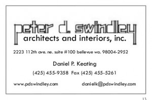 Peter D Sindley -- Architects and Interiors