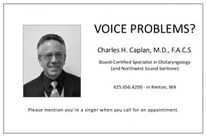 Voice Problems -- Charles H Caplan, MD, FACS
